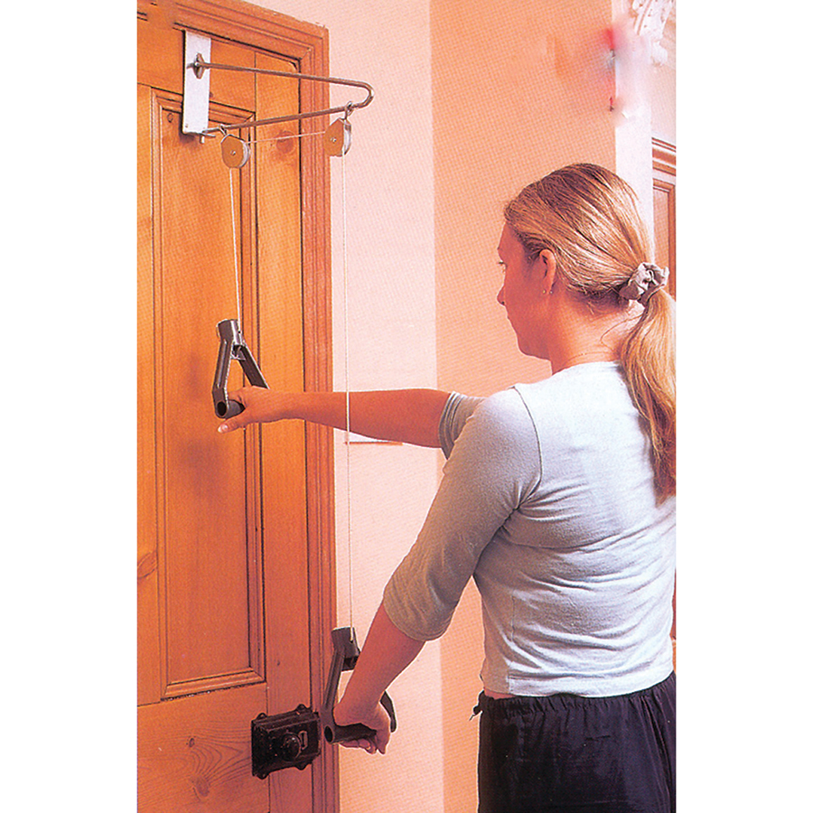 Whiteley Healthcare Exercise Products Stretchers ACOVERDPUL Overdoor  Shoulder Pulley